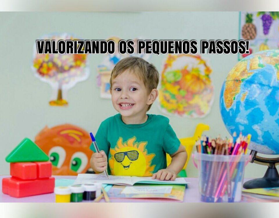 Divida as tarefas em pequenos passos para que as crianças experimentem o sucesso...