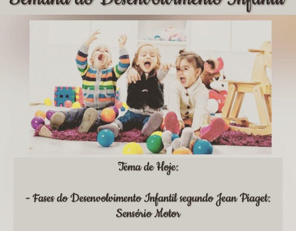 Jean Piaget estabeleceu 4 estágios do desenvolvimento cognitivo infantil. Ele fo...