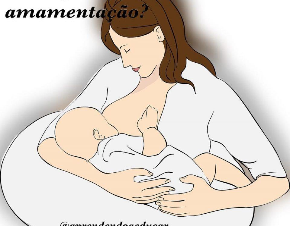 Minha história de amamentação começou com o meu nascimento, minha mãe me amament...