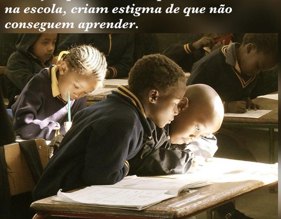 Ontem o Jornal Nacional apresentou uma reportagem sobre o nível de analfabetismo...
