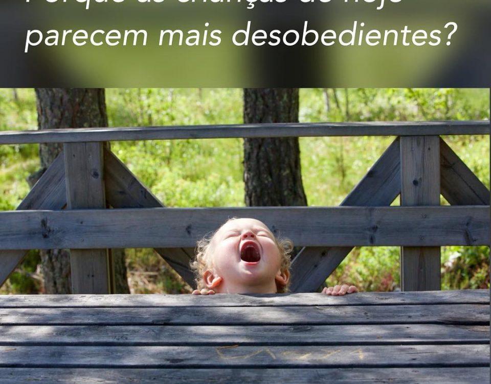Porque as crianças de hoje parecem mais desobedientes?O que percebemos é que a...