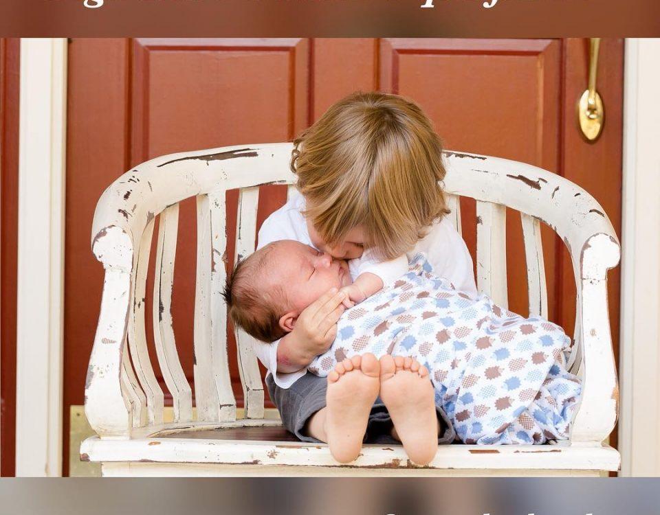 Quando temos mais de um filho, queremos que eles tenham um ótimo relacionamento ...