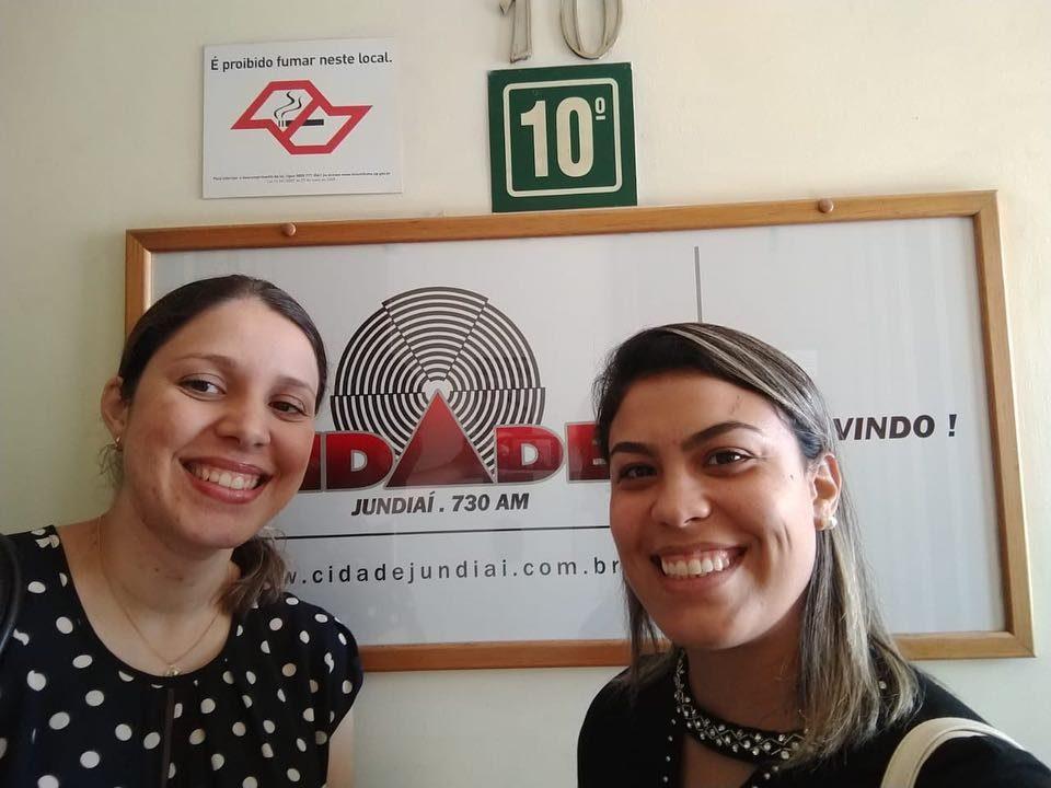 Pessoal, ontem fizemos uma entrevista na @radiocidadejundiai para falar um pouqu...