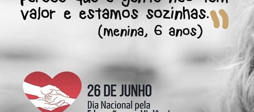 Repost: @criacaomaisconsciente Hoje, 26 de junho é o Dia Nacional pela Educação...