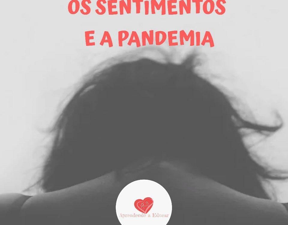 A pandemia e os sentimentos Com essa pandemia precisamos nos atentar ainda mais...