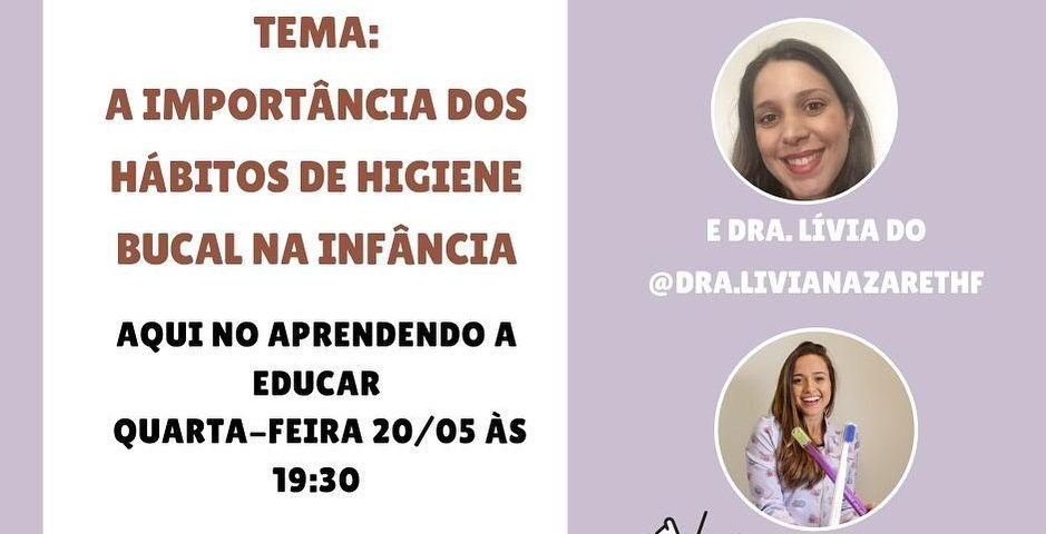 Amanhã teremos uma live mais que especial com a @dra.livianazarethf sobre saúde ...